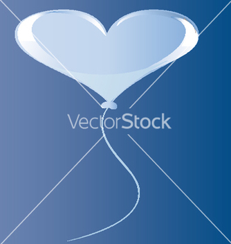 Free heart balloon vector - Free vector #215035