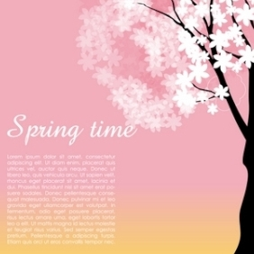 Spring Time - vector gratuit #215095