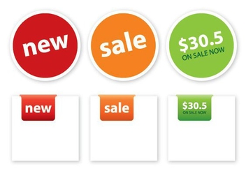 Price Tags - Free vector #215125