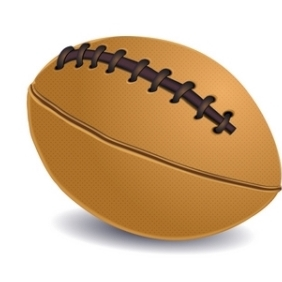 Rugby Ball - vector gratuit #215555