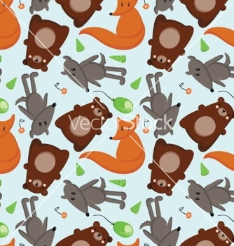Free forest animals 1 vector - vector #215575 gratis