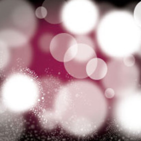 Black Blur Bubbles Vector Art Design - vector gratuit #215605