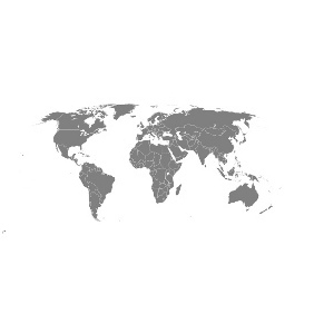 Vector World Map - vector #215695 gratis
