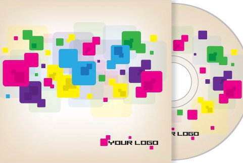 conception de couverture de CD - vector gratuit #215755