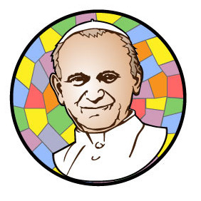 Pope John Paul Vector Tribute - vector gratuit #215895