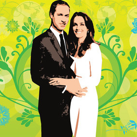Royal Wedding - vector gratuit #216165