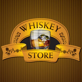 Whisky Store - vector gratuit #216365