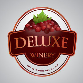 Deluxe Winery - Free vector #216445
