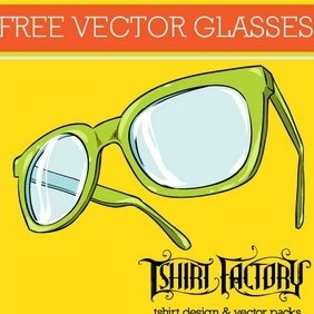 Free Glasses Vector - vector #216695 gratis