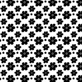 A Free High Quality Seamless Vector Petal Pattern - vector gratuit #216745