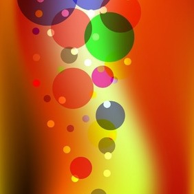 Colorful Background With Circles - Kostenloses vector #216795
