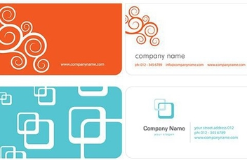 Business Cards - vector gratuit #217295