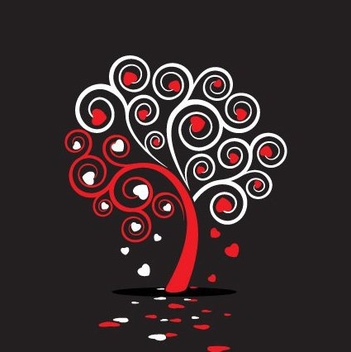 Love Tree - vector #217335 gratis