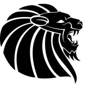 Lion Head Vector Illustration - vector #217575 gratis