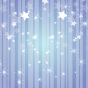 Stars Free Vector Background - vector #217615 gratis