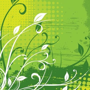 Floral Background - vector #217765 gratis