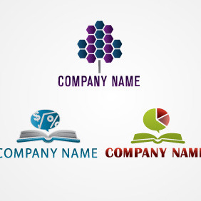 Accountancy Logo Pack - vector #217795 gratis
