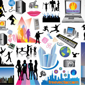 Free Vector Art Graphics - Free vector #218085