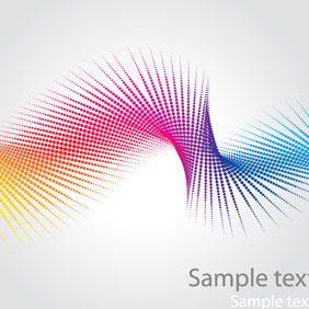 Abstract Swirl (Rainbow Colours) - vector gratuit #218185