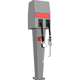 Vector Fuel Pump - vector #218275 gratis