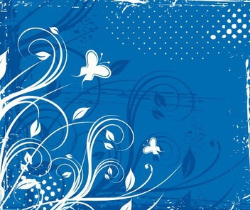 Blue morning - vector gratuit #218285