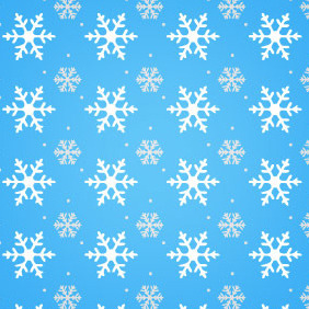 Festive Seamless Winter Vector Pattern - Free vector #218565