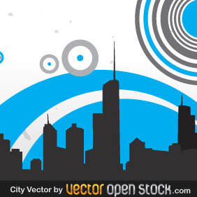 City - vector gratuit #218765
