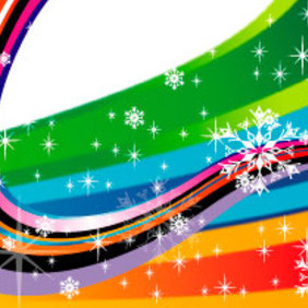 Colored Holidays Free Vector - vector gratuit #218815