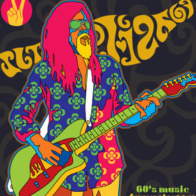 Sixties Music Vector - Free vector #218835