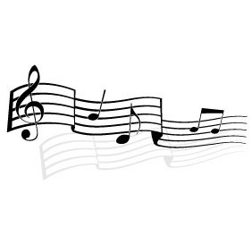 Music Notes Vector Illustration - Free vector #218905