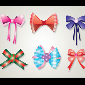 Ribbon Vector Graphics - Kostenloses vector #218925