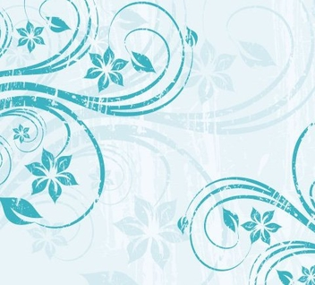 Blue Swirls Part 2 - vector gratuit #218975