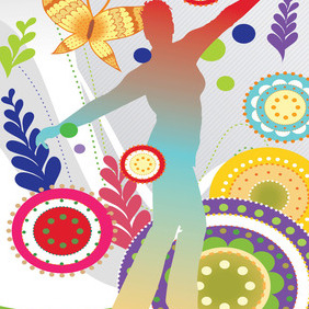 Natural Lifestyle - vector #218985 gratis