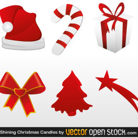 Christmas Icons - Kostenloses vector #219175