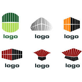 Custom Logo Design Elements - vector gratuit #219415