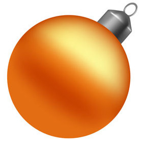 Vector Christmas Ball - vector gratuit #219505