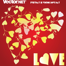 Love Heart - vector gratuit #219525