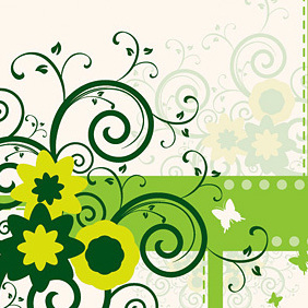 Swirly Design - vector gratuit #219545