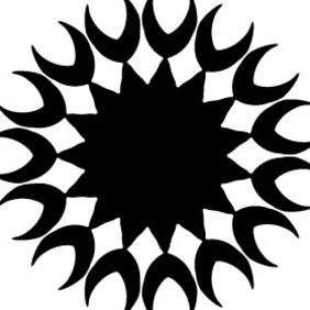 Tribal Tattoo Vector Element - Free vector #219575
