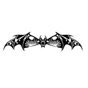 Bat Vector Image - бесплатный vector #219725