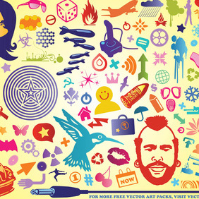 Design Pack - vector gratuit #219815
