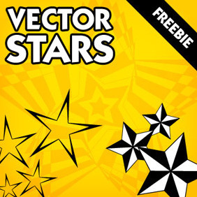 Vector Stars Pack Of 10 - vector gratuit #219875