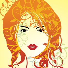 Summer Girl - vector #220055 gratis