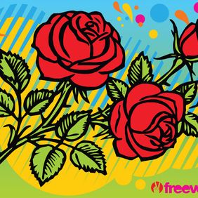 Roses - Free vector #220155