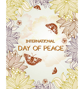 Free international day of peace vector - бесплатный vector #220255