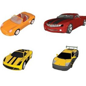 Download 6 Vector Cars - vector #220335 gratis