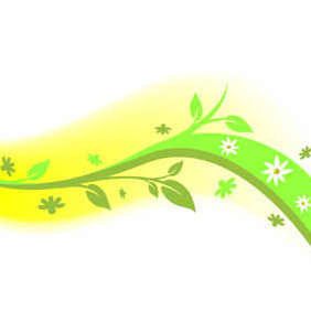 Floral Design Element - vector gratuit #220535