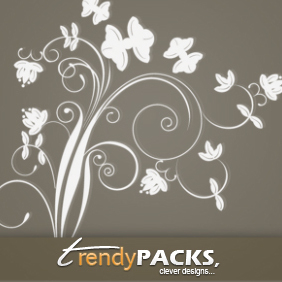 Free Floral Ornaments Vector - бесплатный vector #220655