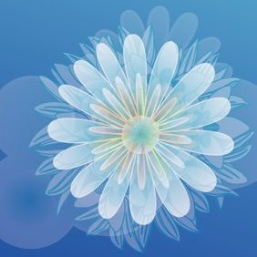 Colorful Flower Vector Graphique 2 - vector gratuit #220925
