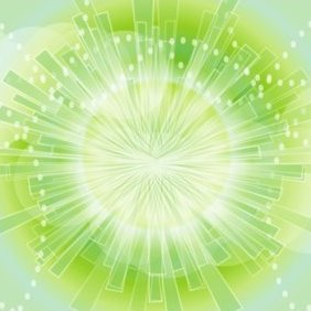 Green Beauty - vector gratuit #220965